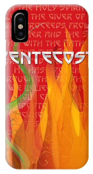 Pentecost Fires IPhone Case