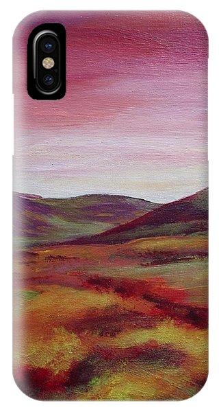 Pentland Hills Scotland IPhone Case