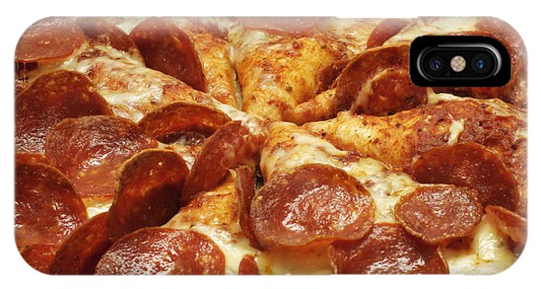 Pepperoni Pizza 1 IPhone Case