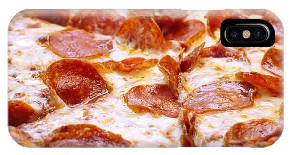 Pepperoni Pizza 1 - Pizzeria - Pizza Shoppe IPhone Case