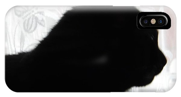Pepsi Cat Silhouette IPhone Case