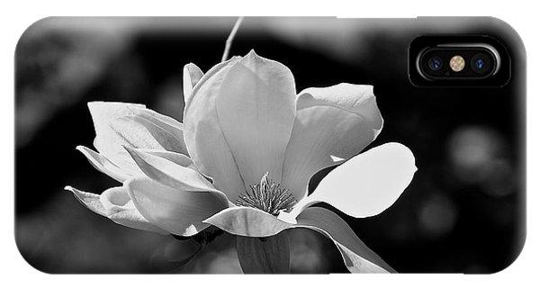 Perfect Bloom Magnolia In White IPhone Case