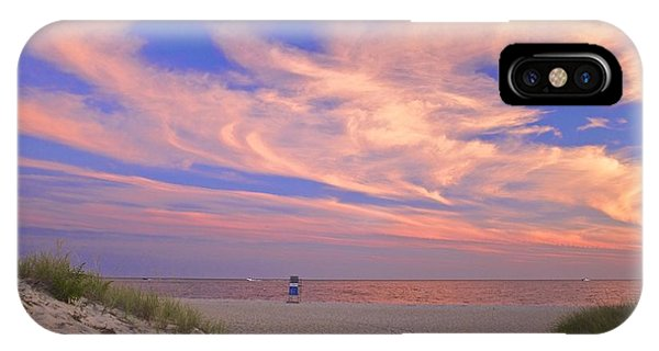 Perfect Ending To Summer On Cape Cod IPhone Case