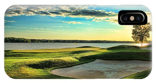Perfect Golf Sunset IPhone Case