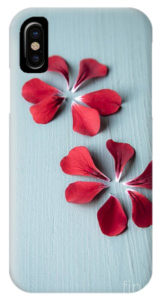 Teal iPhone Case - Perfect Petals by Jan Bickerton