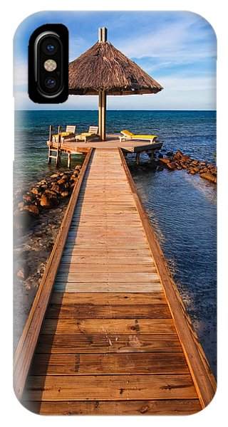 Tiki Bar iPhone Case - Perfect Vacation by Adam Romanowicz