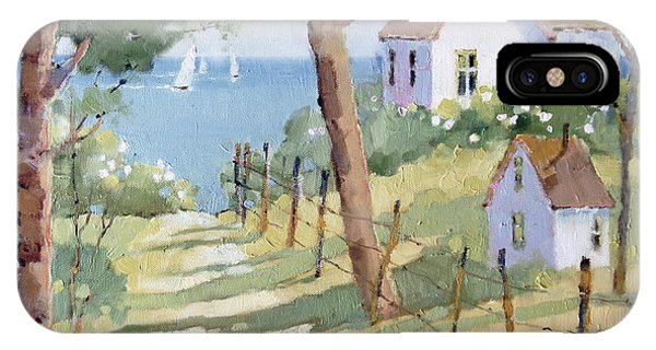 Perfectly Peaceful Nantucket IPhone Case