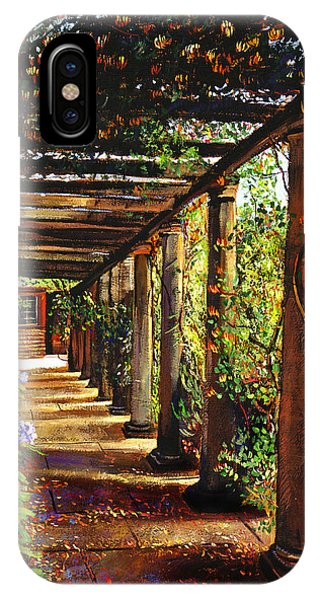 Pergola Walkway IPhone Case