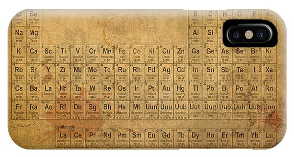 The iPhone Case - Periodic Table Of The Elements by Design Turnpike