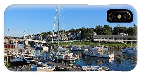 Perkins Cove Ogunquit Maine 2 IPhone Case