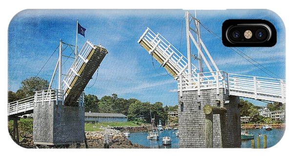 Perkins Cove Drawbridge Textured IPhone Case
