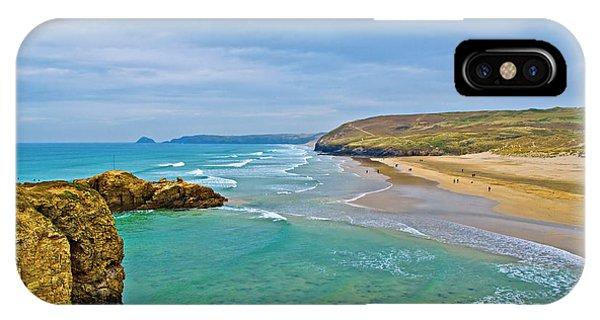 Perranporth Beach IPhone Case
