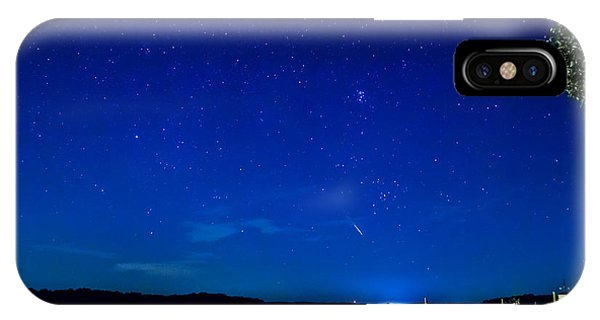 Perseid Meteor IPhone Case