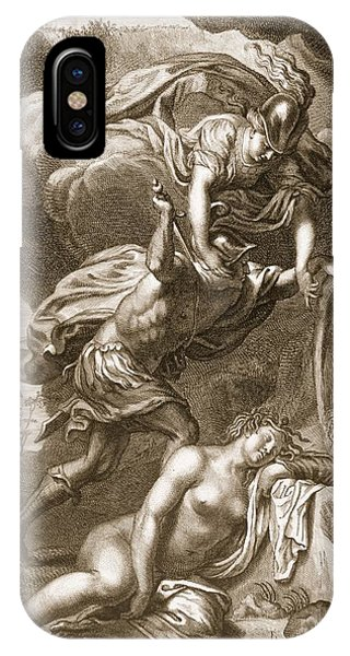 Perseus Cuts Off Medusas Head, 1731 IPhone Case