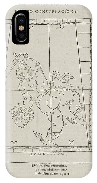 Constellations iPhone Case - Perseusstar Constellation by British Library