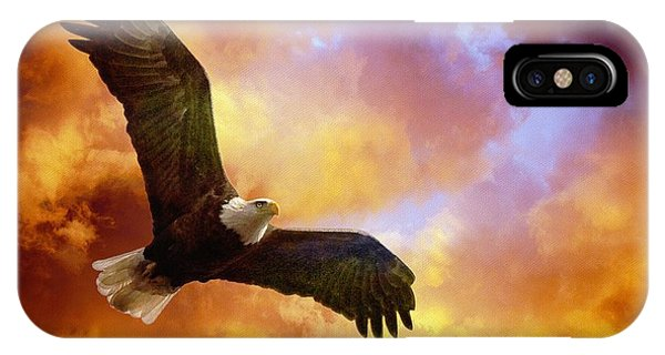 In Flight iPhone Case - Perseverance by Lois Bryan