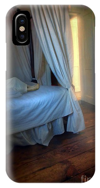 Anguish iPhone Case - Person In Bed by Jill Battaglia