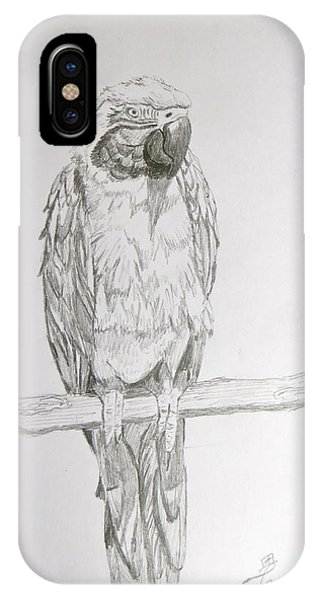 Peruvian Parrot IPhone Case