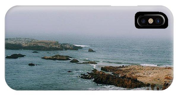 Pescadero Beach IPhone Case