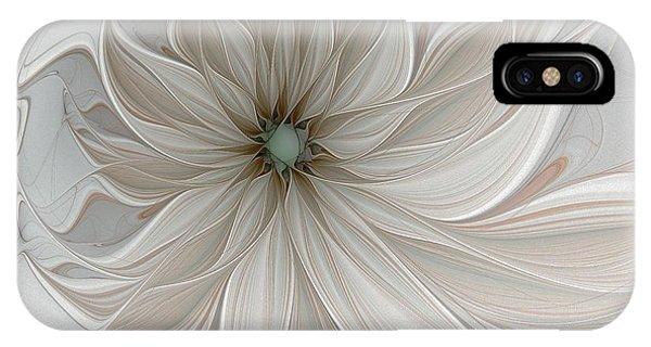 Petal Soft White IPhone Case