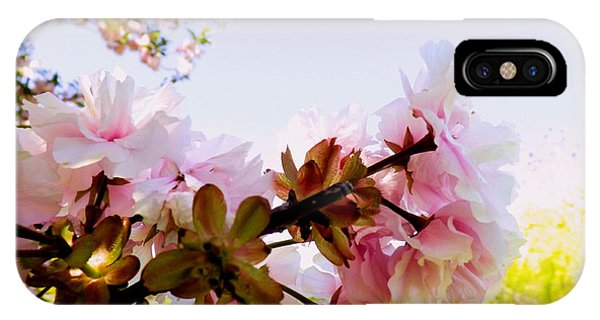 Petals In The Wind IPhone Case