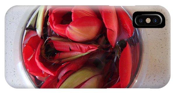 Petals In Vase  IPhone Case