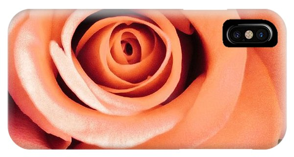 IPhone Case featuring the photograph Petals Of Peach by Marian Palucci-Lonzetta