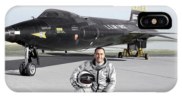 Pete Knight As X-15 Test Pilot Phone Case by Nasa