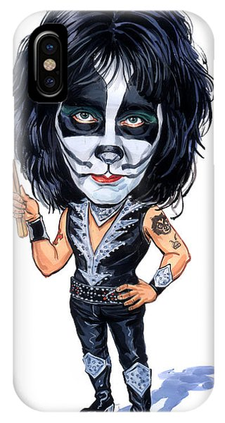 Superior iPhone Case - Peter Criss by Art