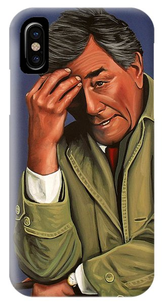 Peter Falk As Columbo IPhone Case
