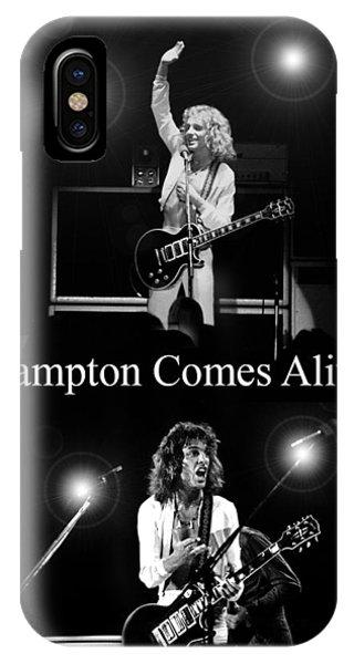 Peter Frampton Live IPhone Case