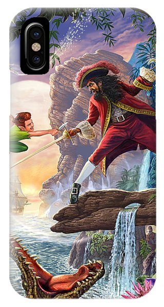 Peter Pan And Captain Hook IPhone Case