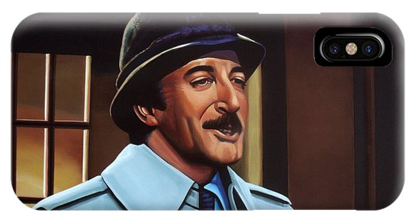 Rights iPhone Case - Peter Sellers As Inspector Clouseau  by Paul Meijering