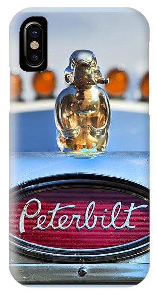 Trucking iPhone Case - Peterbilt 2 by Theresa Tahara