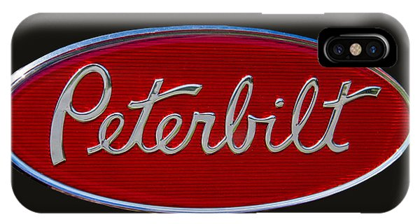 Peterbilt Semi Truck Logo Emblem IPhone Case