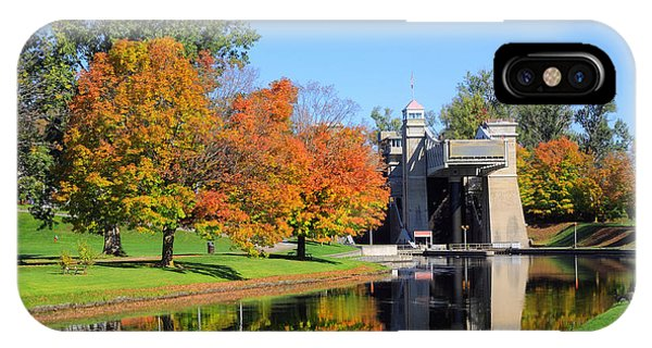 Peterborough Lift Lock IPhone Case