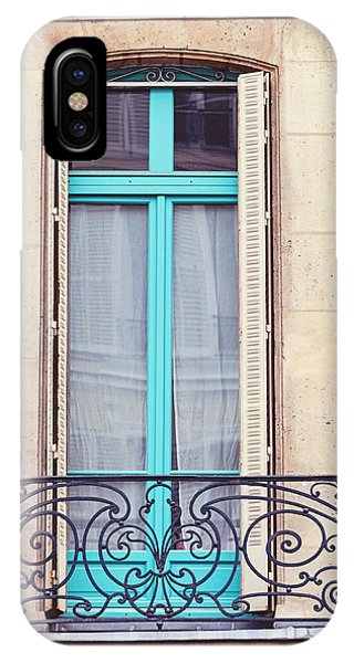 Petit - Parisian Balcony  IPhone Case