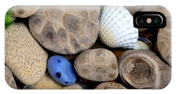 Petoskey Stones V IPhone Case