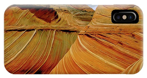 Petrified Sand Dunes The Wave IPhone Case