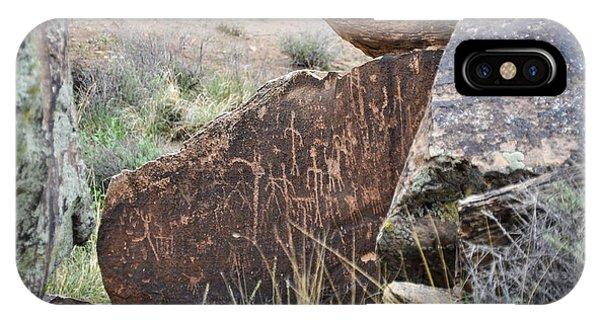 Petroglyph Art IPhone Case