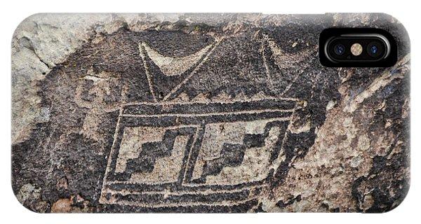 Petroglyph Design IPhone Case