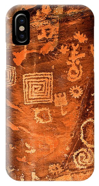 Petroglyph Symbols IPhone Case