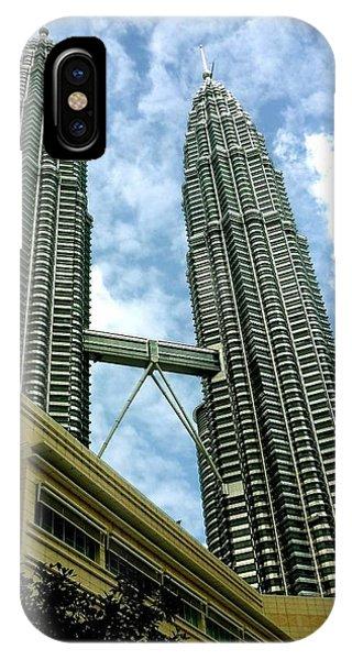 Petronas Twin Towers Kuala Lumpur Malaysia  Phone Case by Sivaanan Balachandran