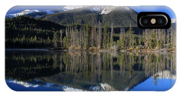 Pettit Lake Reflection IPhone Case