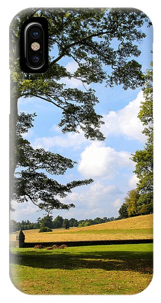 IPhone Case featuring the photograph Petworth Gardens By Mike-hope by Michael Hope