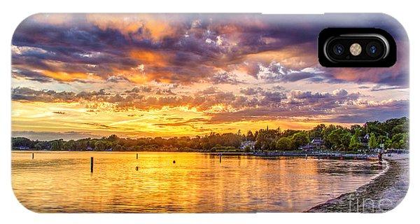 Pewaukee Orange Fury IPhone Case