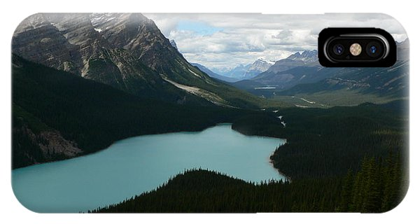 Peyote Lake In Banff Alberta IPhone Case