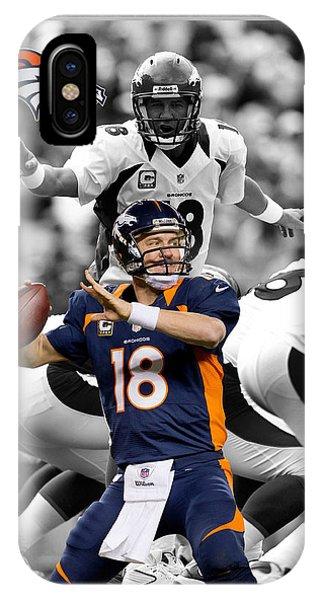 Peyton Manning Broncos IPhone Case