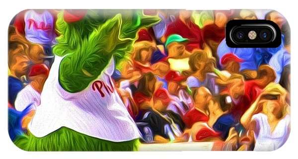Phanatic In Action IPhone Case