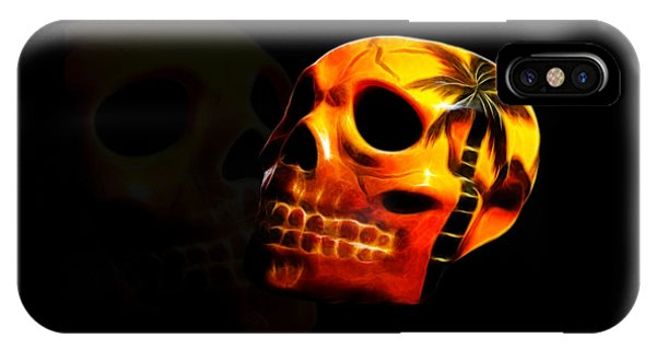 Phantom Skull IPhone Case